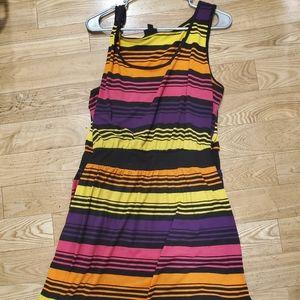 Torrid Striped Summer Tank Dress (Plus Size)